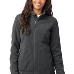 Eddie Bauer Ladies Wind Resistant Full Zip Fleece Jacket