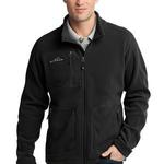 Eddie Bauer Wind Resistant Full Zip Fleece Jacket