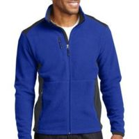 Eddie Bauer Full Zip Sherpa Fleece Jacket Thumbnail