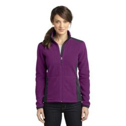 Eddie Bauer Ladies Full Zip Sherpa Fleece Jacket Thumbnail