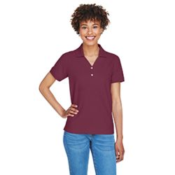 Devon & Jones Ladies' Pima Piqué Short-Sleeve Y-Collar Polo D100W Thumbnail