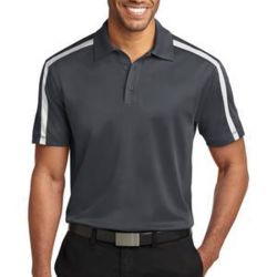 K547-Port Authority Silk Touch™ Performance Colorblock Stripe Polo Thumbnail