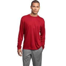 Sport Tek Tall Long Sleeve Moisture Wicking Tee Thumbnail