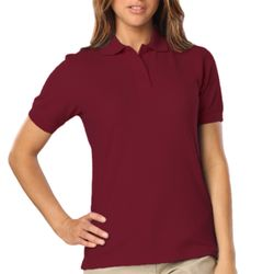 BG6224-Blue Generation Ladies Snag Resistant Wicking Polo Thumbnail