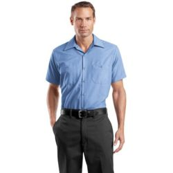 Red Kap Short Sleeve Industrial Work Shirt Thumbnail