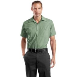 Red Kap TALL, Short Sleeve Industrial Work Shirt Thumbnail
