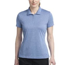 474455 - Nike Golf Ladies Dri FIT Heather Polo Thumbnail