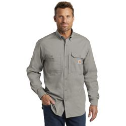 Carhartt Force ® Ridgefield Solid Long Sleeve Shirt - CT102418 Thumbnail