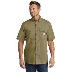 Carhartt Force ® Ridgefield Solid Short Sleeve Shirt - CT102417 Thumbnail